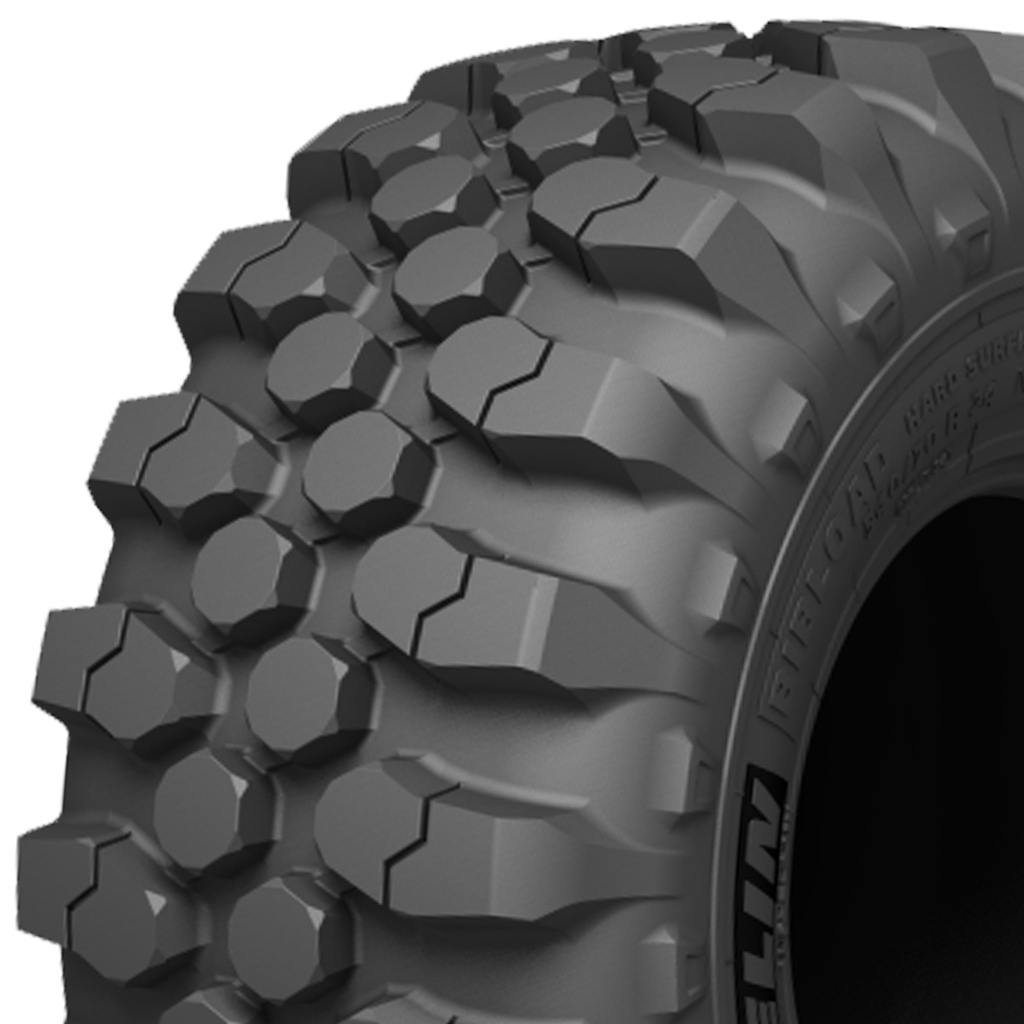 340/80 R 18 Michelin BIBLOAD Hard Surface 143 A8/143 B TL Block
